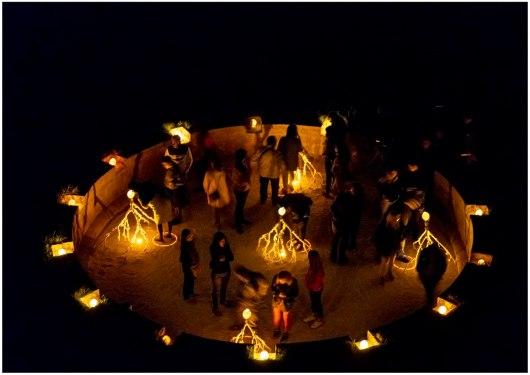 proyecto GAUDA, intervención escultórica ORIGEN I (Copy)